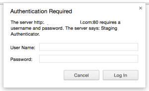Testing Browser Pop-up: Basic Auth with Capybara – Software Testing