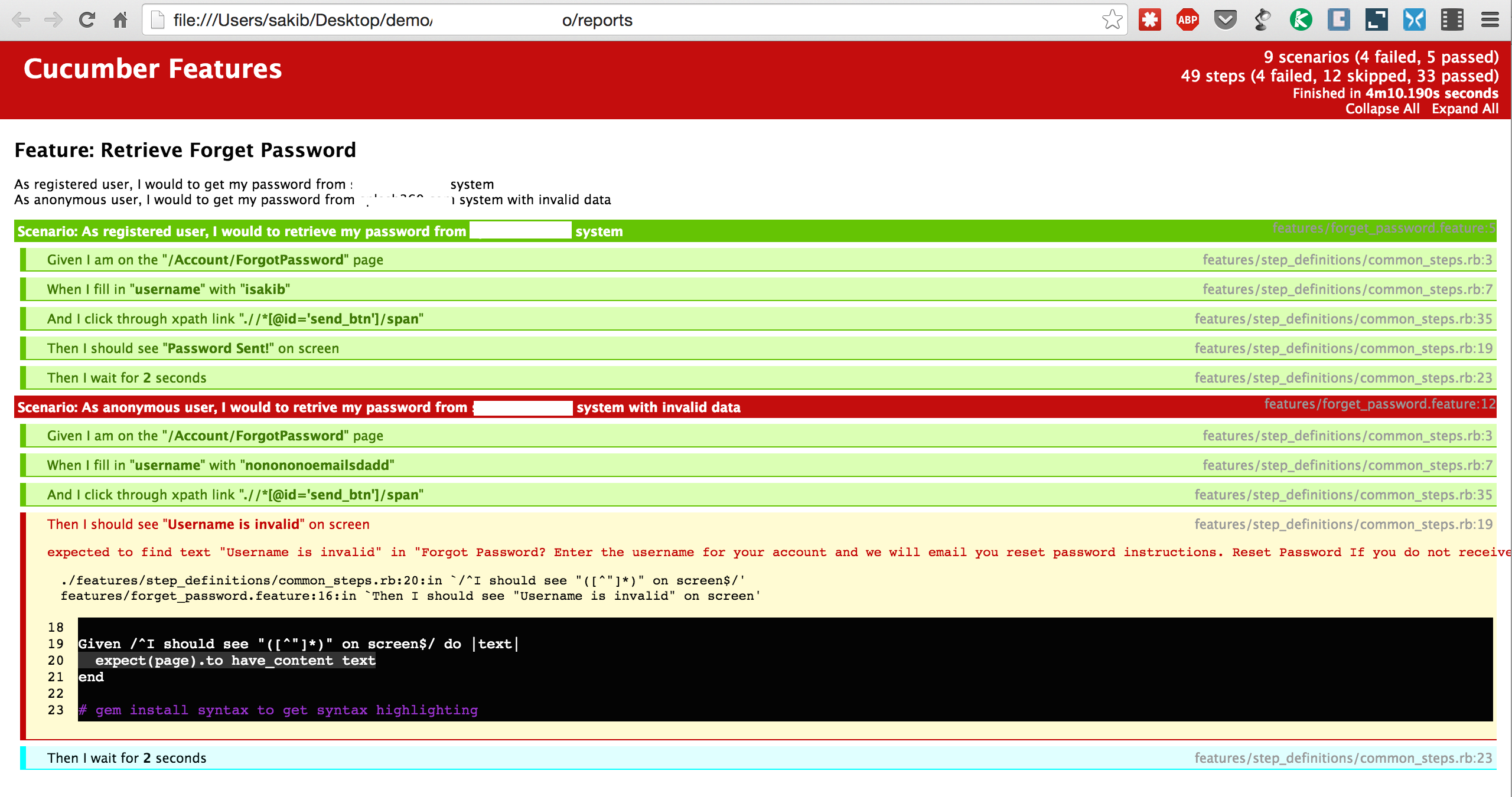 Cucumber to generate HTML report – Software Testing